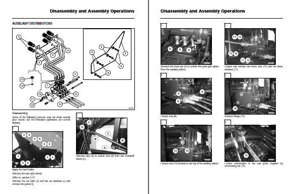 Massey Ferguson 9380 Delta Combine Repair Manual