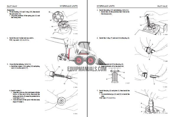 Takeuchi TL130 Crawler Loader Repair Shop Manual