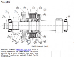 JCB Transmission, Gearbox, Axle Repair Manual