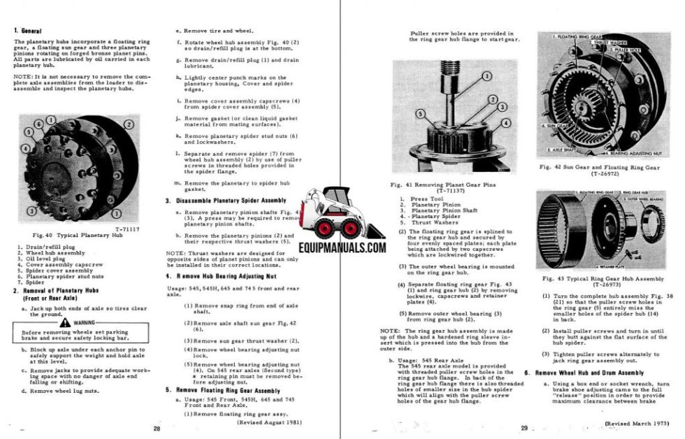 fiat allis 645b wheel loader complete service manual. Black Bedroom Furniture Sets. Home Design Ideas