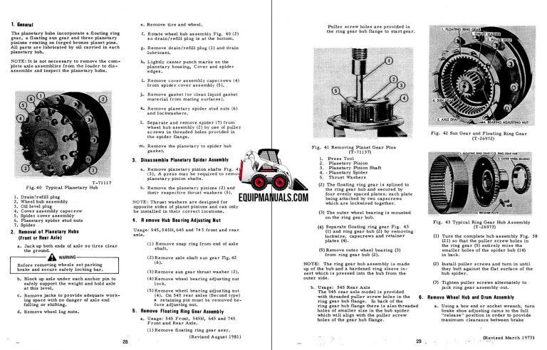 Fiat Allis FR9B, FR9C, FR90 Wheel Loader Service Manual