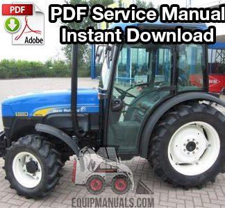 New Holland LS25, LS35, LS45, LS55 Tractor Service Manual ... on