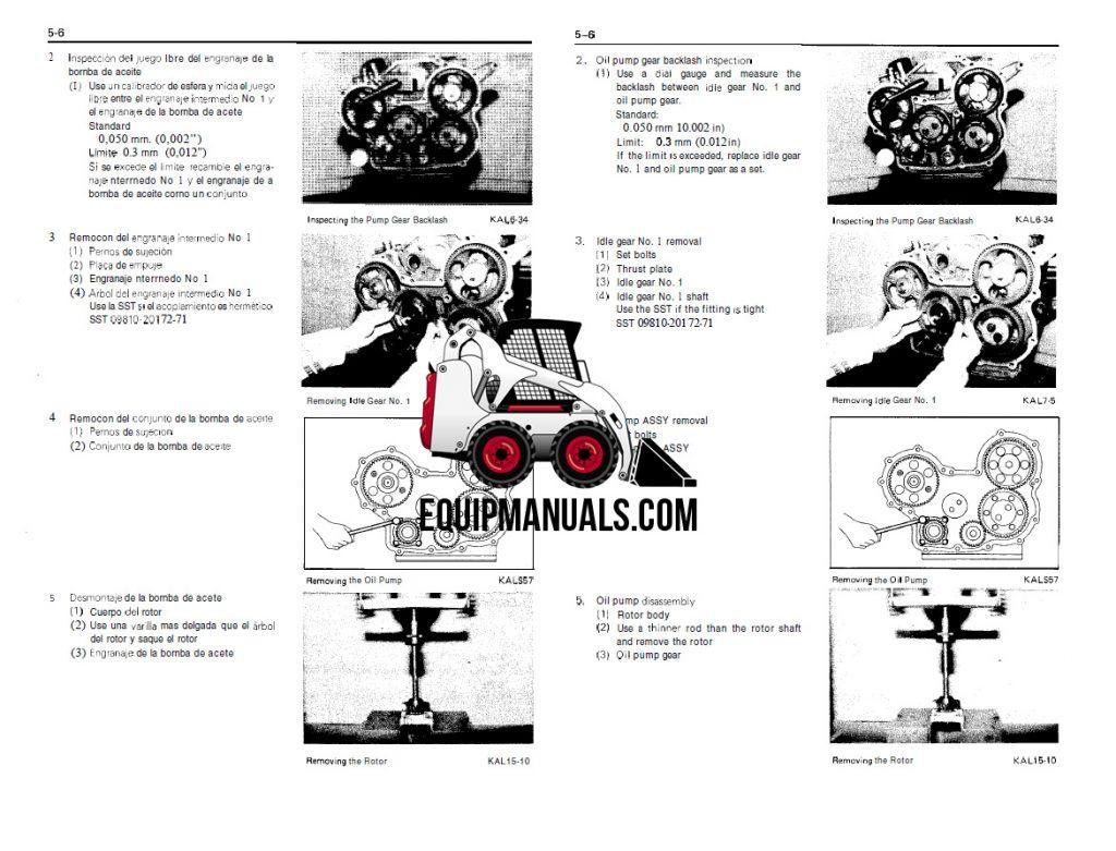 Toyota 11Z, 12Z, 13Z, 14Z Forklift Engine Repair Manual