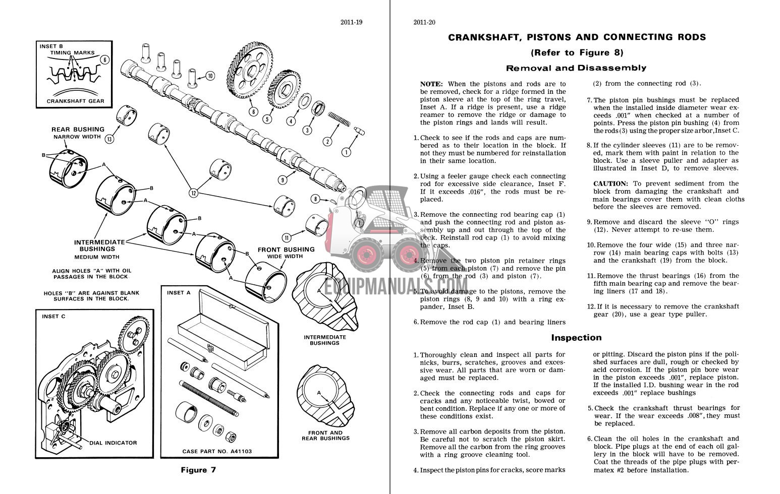 Case Traction King Tractor Repair Manual