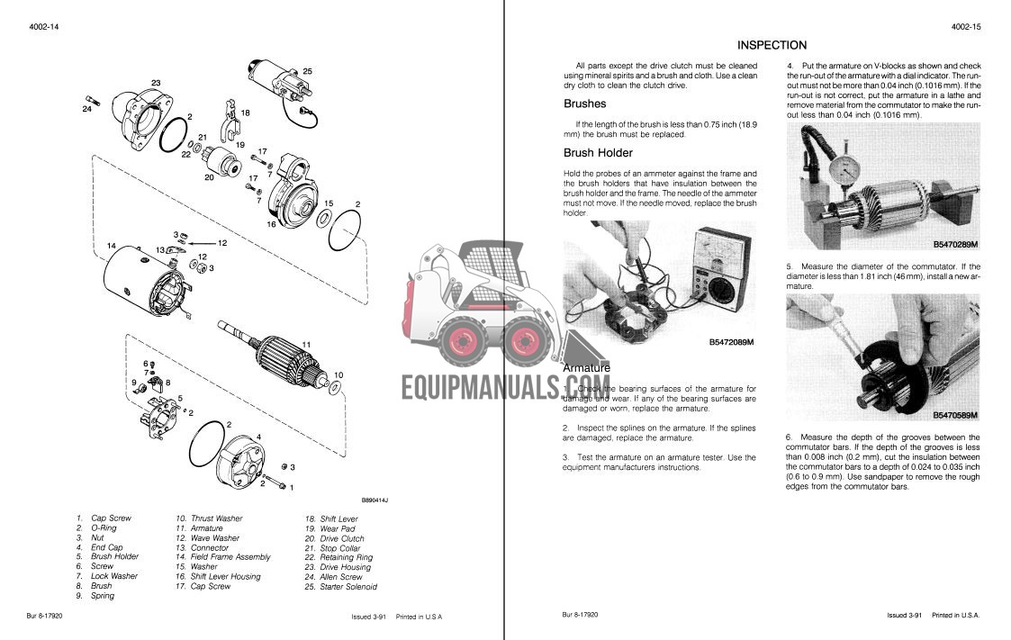 Case 721 Wheel Loader Service Manual