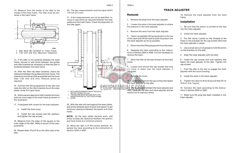 Case MC1150E Crawler Dozer Service Manual