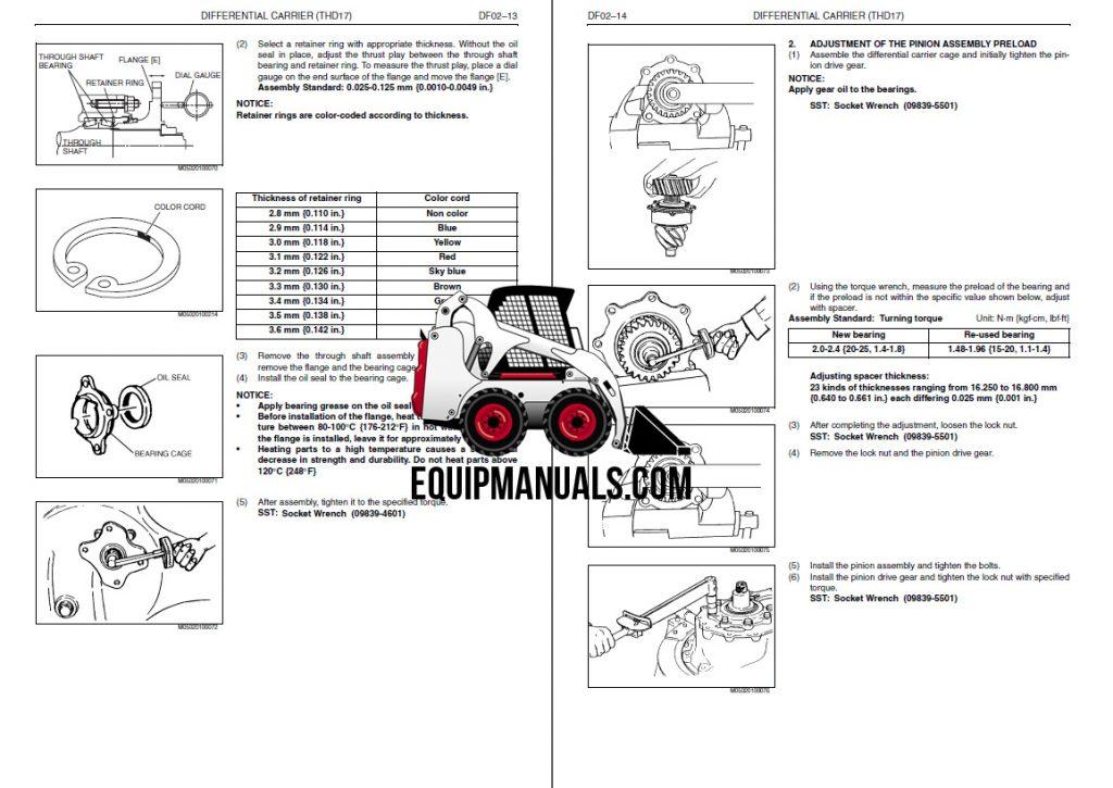 2015 Hino 238, 258LP, 268, 338 Series Truck Workshop Manual