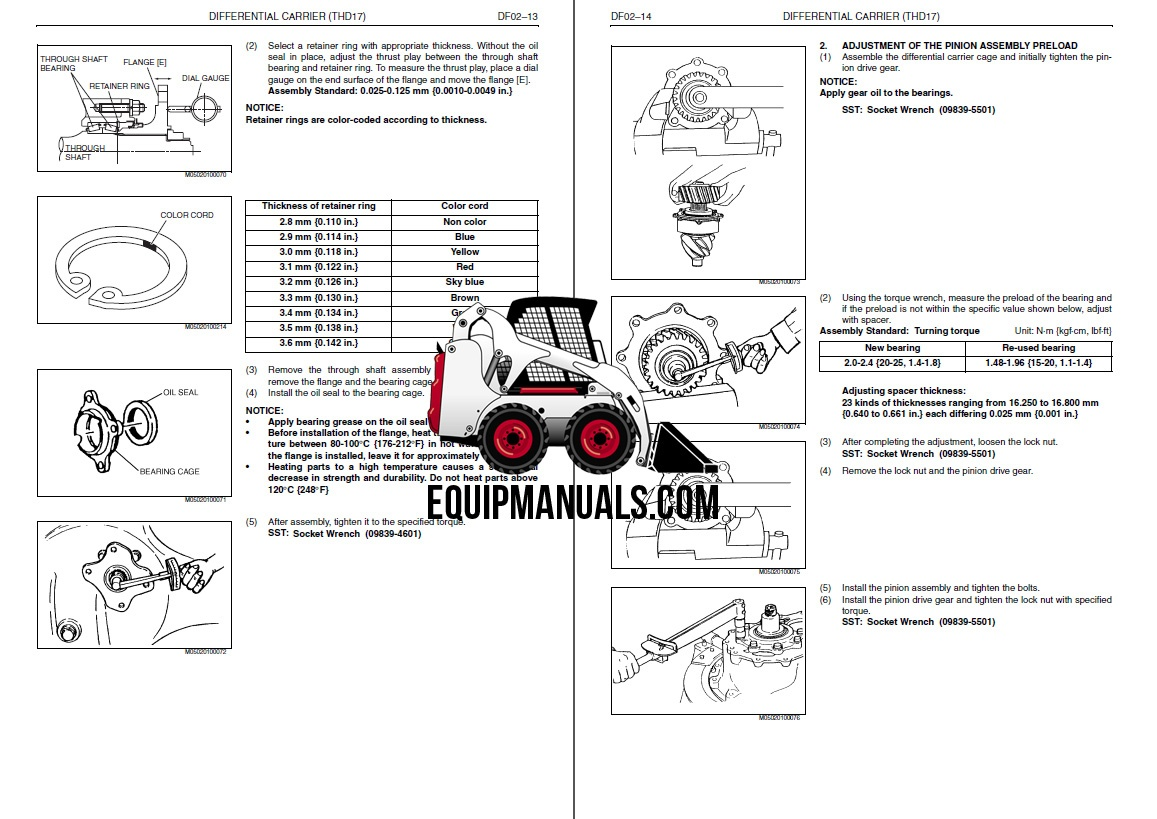 Hino FD1J, GD1J, FG1J, FL1J, FM1J Series Truck Workshop Manual