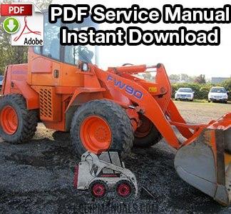 Fiat Allis FW90 Wheel Loader Service Manual