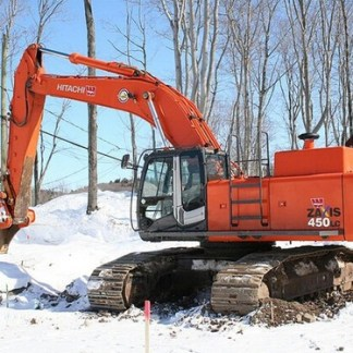 Hitachi Zaxis 450, 450LC, 450H, 450LCH Excavator Complete Service Manual
