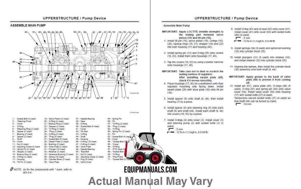 New Holland L781, L784, L785 Skid Steer Loader Repair Manual