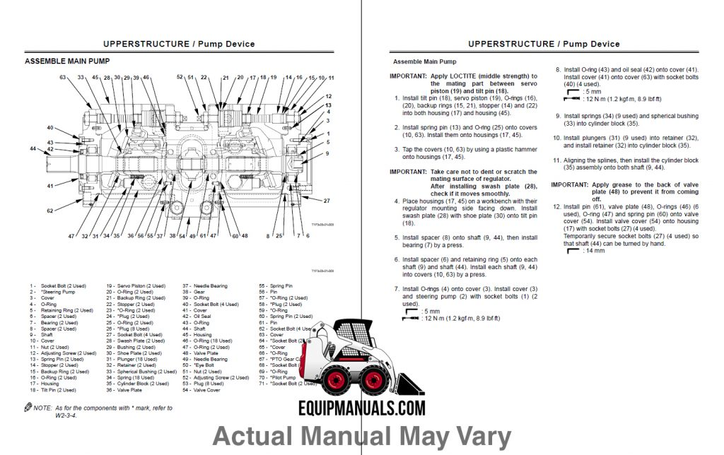 New Holland LM5040, LM5060, LM5080 Telehandler Service Manual