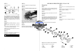 Case IH 1120, 1130, 1140 Tractor Service Manual