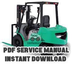 Mitsubishi 4D34-T Truck Diesel Engine Workshop Manual - EquipManuals com