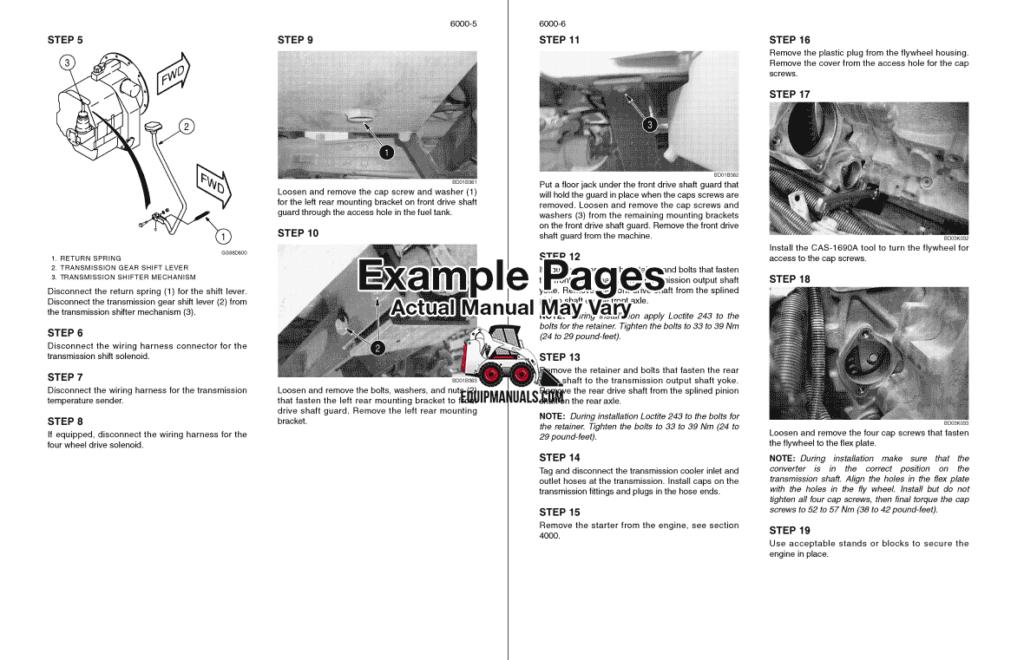 Case 580M, 590 Super M Series 3 Backhoe Service Manual