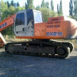 Fiat Hitachi EX215 Excavator Service Manual Set