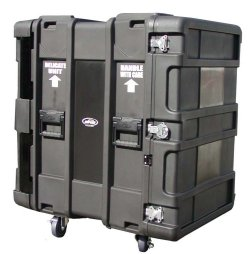 "SKB 24"" Deep 16 Unit Roto-Molded Shock Rack Cases"