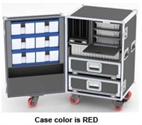 ROADPRO-1 Upright Drawers-Trays-Bins Road Case-Model DP68-990
