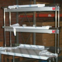 Stainless Steel Kitchen Racks Overstock Sinks Furniture Easy Clean Working Table L Shaped