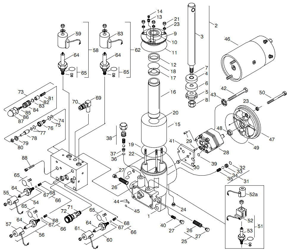 Meyer Hydraulic E-66 Parts