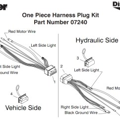 Meyers Plow Light Wiring Diagram M16 Upper Receiver Assembly Note The 07240 Plug Assy Can Only Be Used With Night