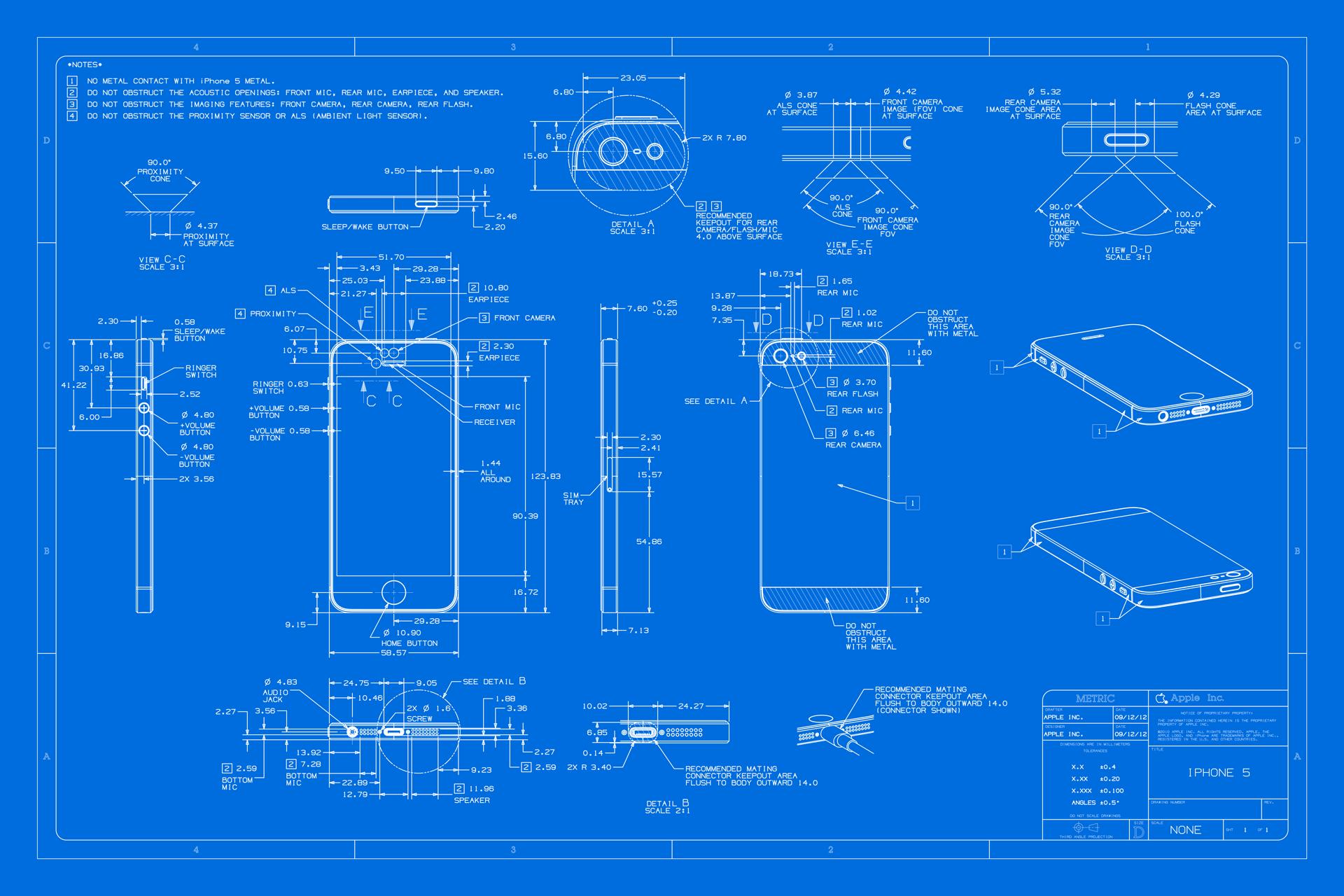 the iphone 5 blueprint