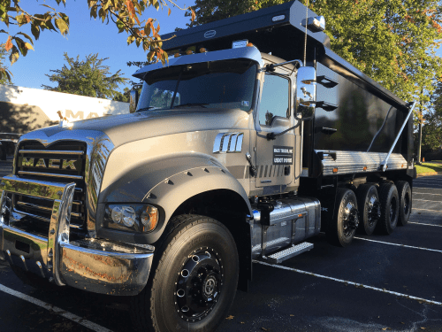 small resolution of mack s granite the best selling conventional straight truck in the u s is getting a light refresh for the coming model year the worksite workhorse is