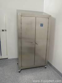 #509617 Stainless Steel Storage Cabinet