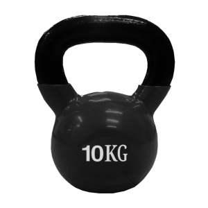 Pesa Rusa Mancuerna Kettlebell 10 Kg Encauchada Gym