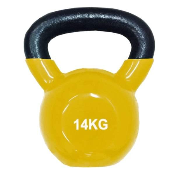 Pesa Rusa Mancuerna Kettlebell 14 Kg Sportiva Encauchada Gym