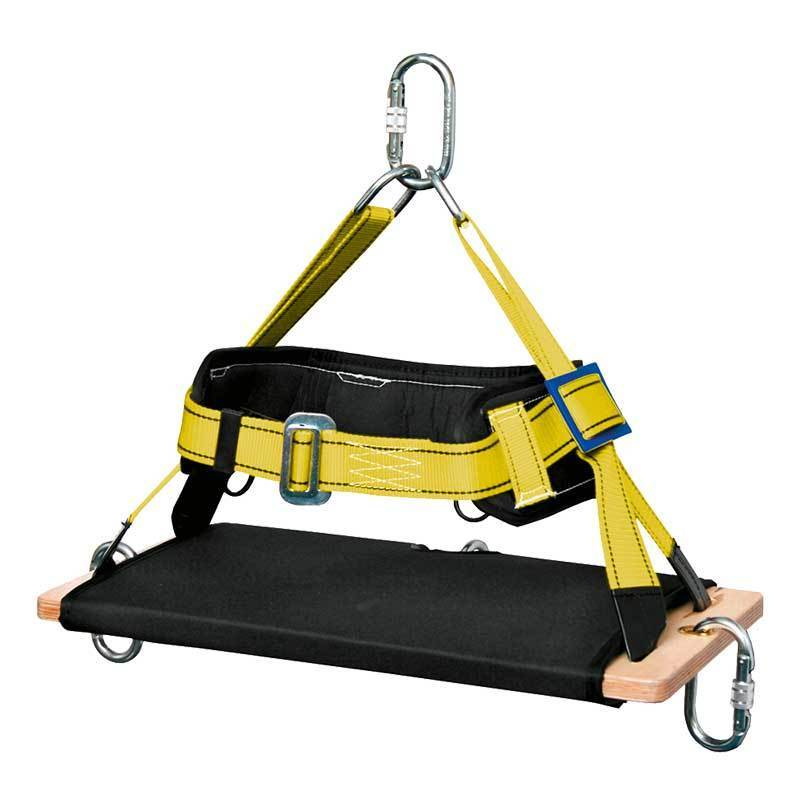 Silla RIGIDA de madera para trabajos verticales Incluye cinturn