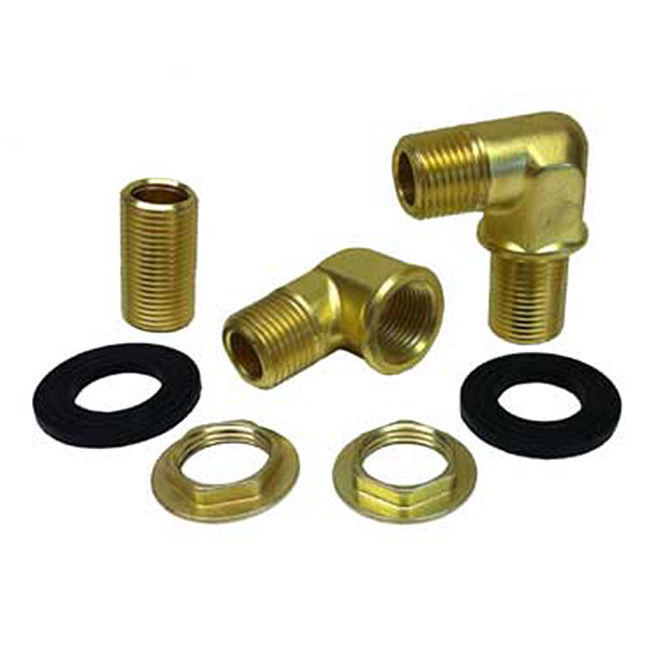 mounting kit for krowne 8 center wall mount faucets