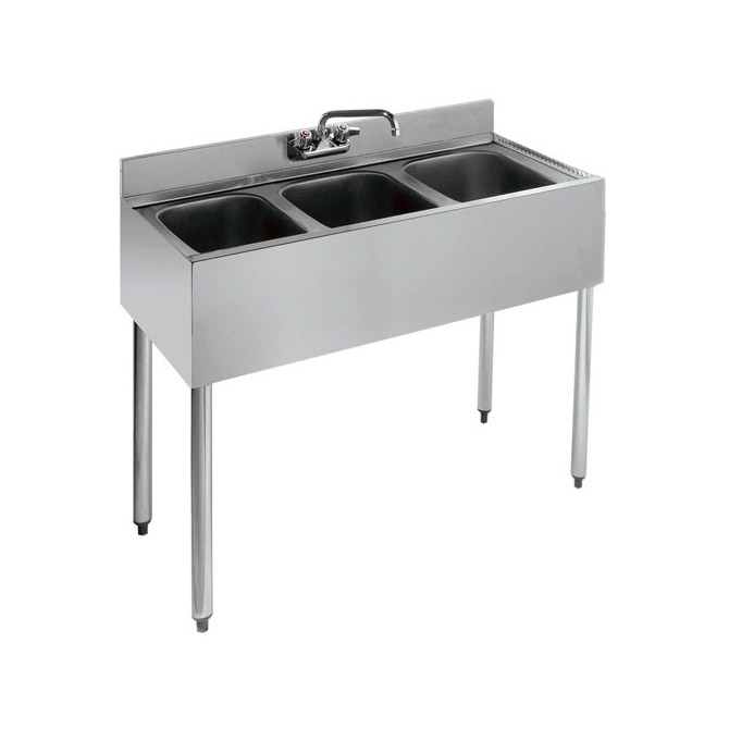 3Compartment Stainless Steel Bar Sink