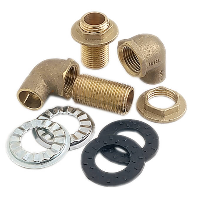 top line mounting kit for wall faucets