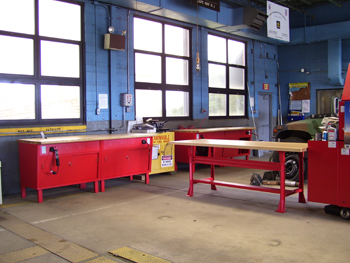 Workcenters  Workbenches  EQUIPTO  Industrial Storage