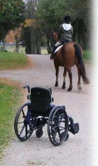 Risultati immagini per paraplegici a cavallo