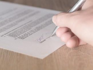 firma dichiarazione sostitutiva o autodichiarazione