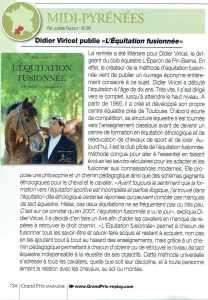 grand prix replay parle de l'équitation fusionnée