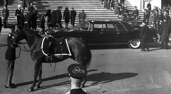 Black Jack Riderless Horse JFK Funeral