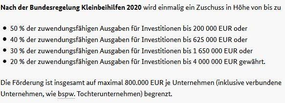 50% Investitionsförderung für Automotive-Industrie