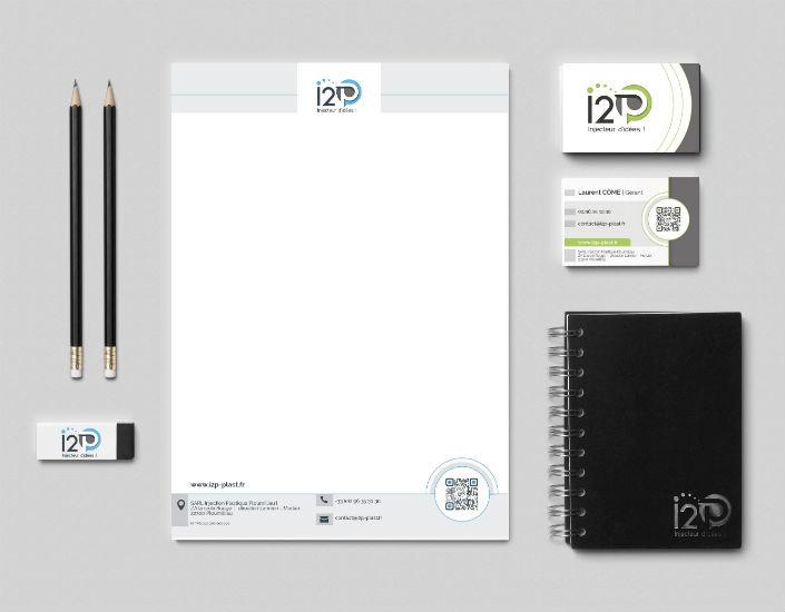 I2P papeterie - Equodesign, création de site internet à Lannion