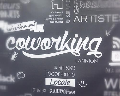 Une agence de communication à Lannion, trouvez-la au coworking !