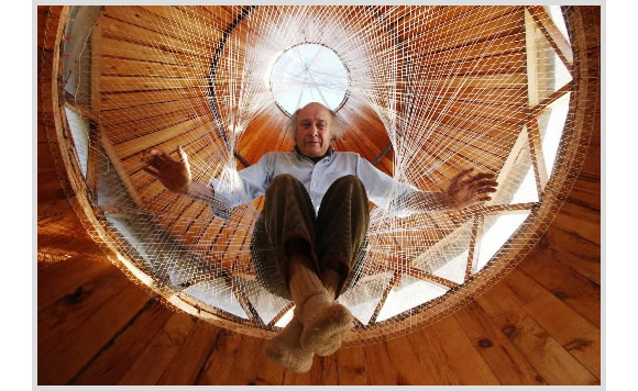 La yurta di Bill Coperthwaite