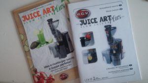 RGV juice art plus istruzioni