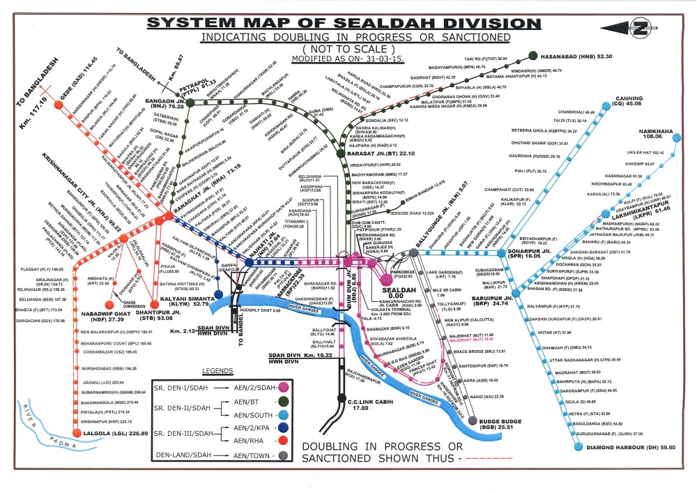 medium resolution of the system map of sealdah division of eastern railway