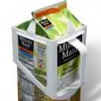Carton Caddy XL half gallon milk carton handle.