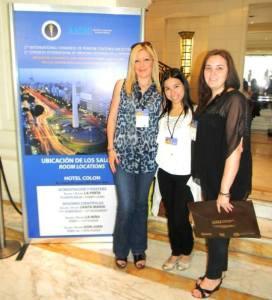 Jessica Ruidiaz, Maria Esther Olivera y Gabriela Alfano