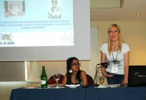 Jessica Ruidiaz, Presidenta de Fundación Era en Abril
