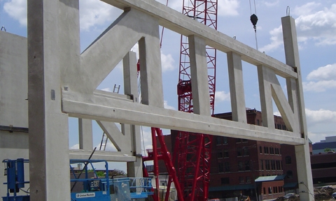 ER POST Precast Concrete Truss Construction Images ERA