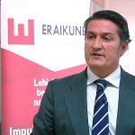 El presidente de Eraikune atiende a EiTB